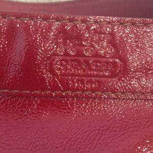 Coach Bags - Red Leather Coach handbag